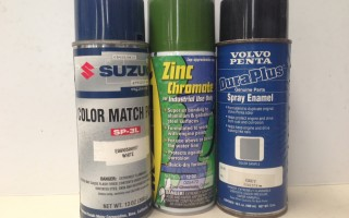 Cleaners, Solvents, Paint