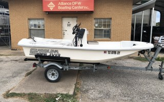 Carolina Skiff JV-13CC  Short front deck