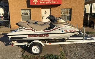 PAIR (2) 1999 SEA DOO PERSONAL WATERCRAFT & TRAILER