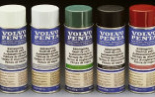 Volvo Penta  Touch-Up Paint, Blue-Grey